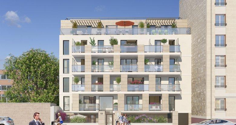Achat / Vente immobilier neuf Saint-Maur-des-Fossés quartier Adamville (94100) - Réf. 3699