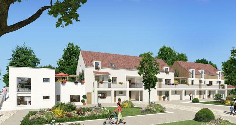 Achat / Vente immobilier neuf Saint-Nom-la-Bretèche en plein centre-ville (78860) - Réf. 605