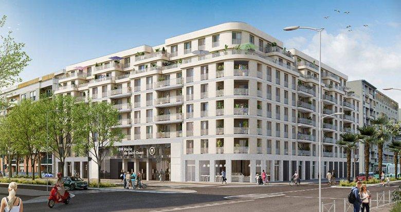 Achat / Vente immobilier neuf Saint-Ouen à deux pas du métro (93400) - Réf. 6145
