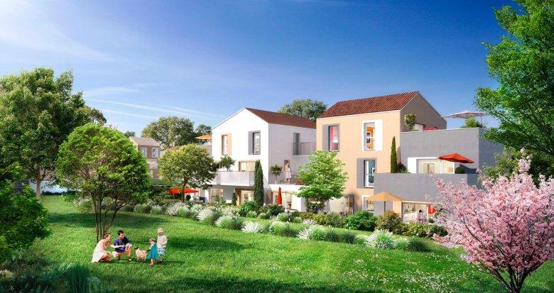 Achat / Vente immobilier neuf Saint-Ouen-l'Aumône ZAC de Liesse 2 (95310) - Réf. 1968