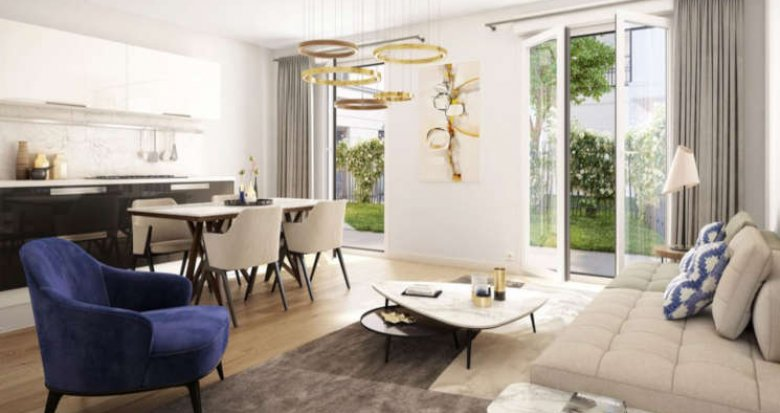 Achat / Vente immobilier neuf Saint-Ouen quartier Debain-Michelet (93400) - Réf. 2648