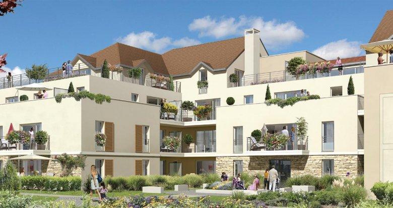 Achat / Vente immobilier neuf Saint-Pierre-du-Perray proche parc (91280) - Réf. 958