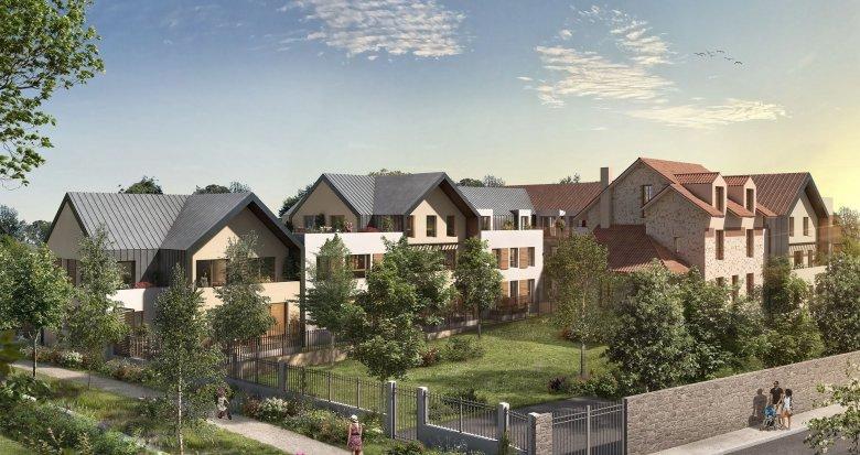 Achat / Vente immobilier neuf Saint-Rémy-Lès-Chevreuse centre-ville (78470) - Réf. 6125