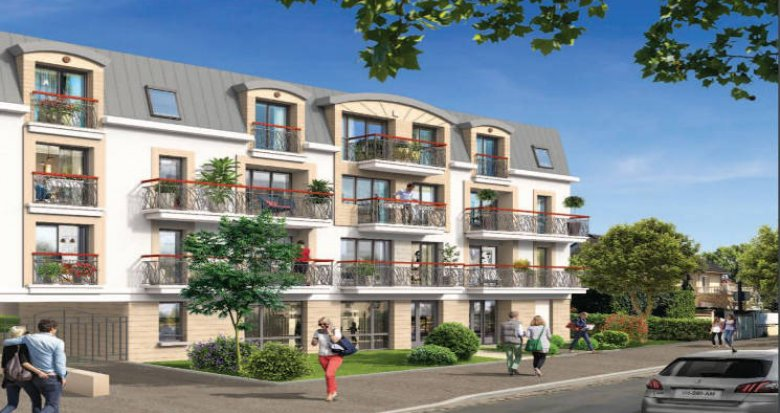 Achat / Vente immobilier neuf Sainte-Geneviève-des-Bois cœur centre-ville (91700) - Réf. 4376