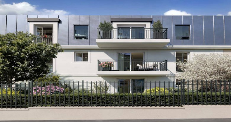 Achat / Vente immobilier neuf Sartrouville à 300 m de la gare RER A (78500) - Réf. 5858