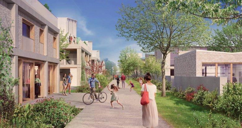 Achat / Vente immobilier neuf Ste-Geneviève-des-Bois proche centre-ville (91700) - Réf. 6131