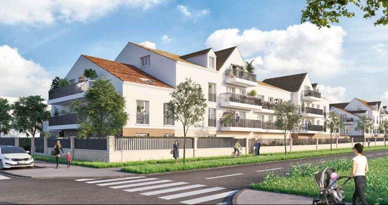 Achat / Vente immobilier neuf Tigery coeur de ville (91250) - Réf. 5870