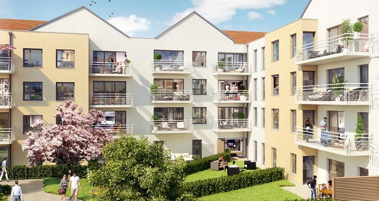 Achat / Vente immobilier neuf Trappes rue Paul Vaillant Couturier (78190) - Réf. 2803
