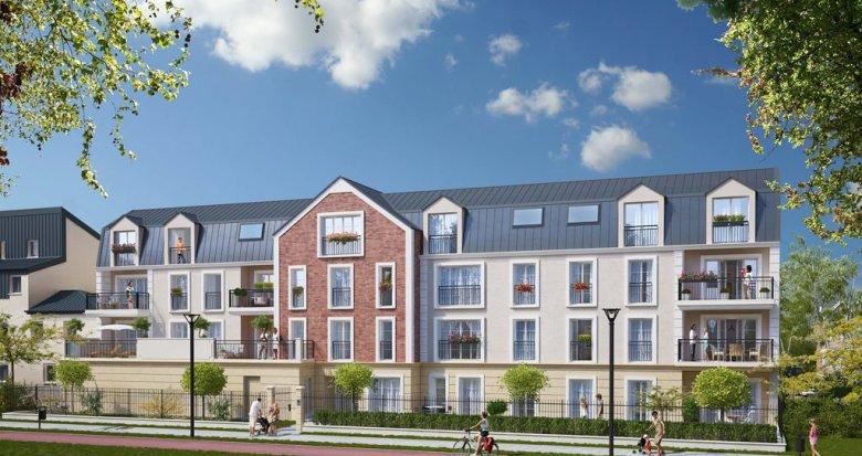 Achat / Vente immobilier neuf Vauréal centre-ville (95490) - Réf. 1261