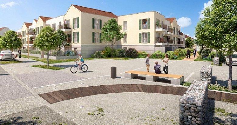 Achat / Vente immobilier neuf Vaux-le-Pénil proche mairie (77000) - Réf. 5886
