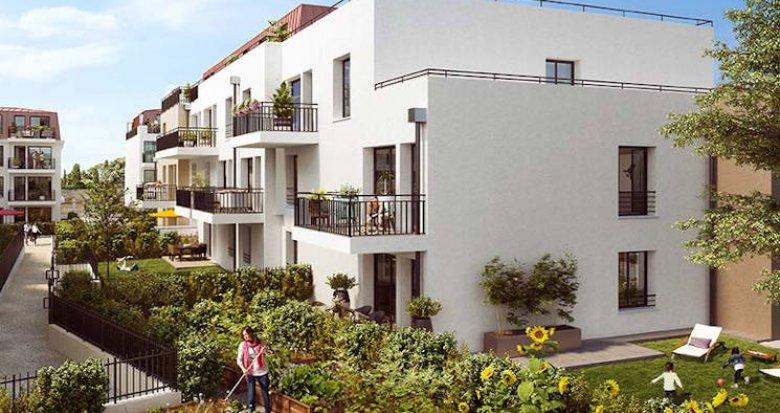 Achat / Vente immobilier neuf Verneuil-sur-Seine à 3 minutes à pied de la gare (78480) - Réf. 4260
