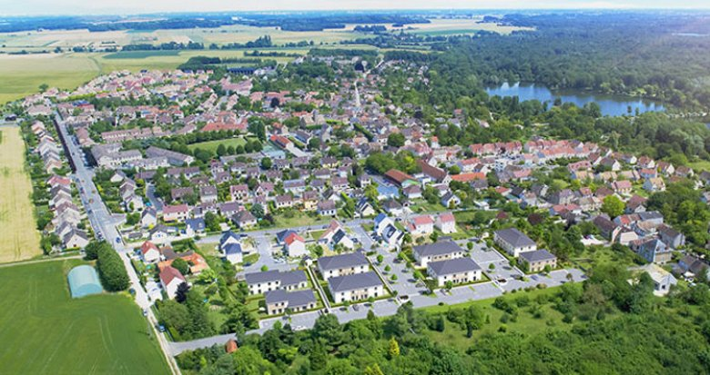 Achat / Vente immobilier neuf Vert-le-petit cœur village cadre idyllique (91710) - Réf. 1206