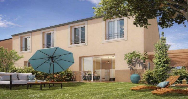 Achat / Vente immobilier neuf Villabé au cœur d'un petit hameau verdoyant (91100) - Réf. 5729