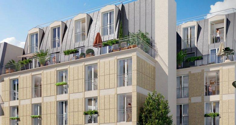 Achat / Vente immobilier neuf Villejuif à 250 mètres du métro 7 (94800) - Réf. 6293