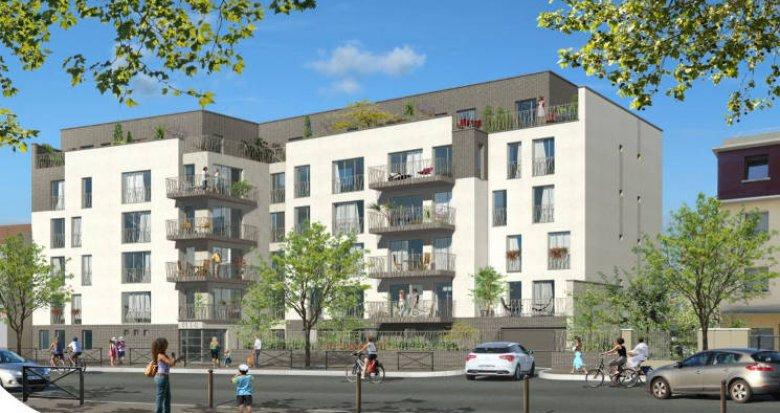 Achat / Vente immobilier neuf Villemomble à 900m du RER E (93250) - Réf. 4876