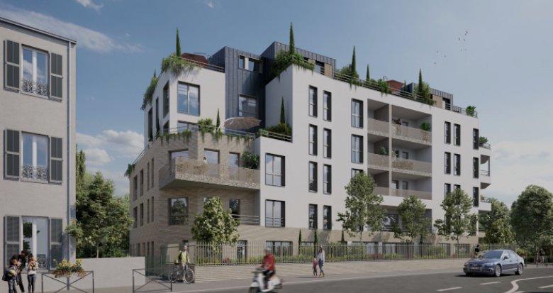 Achat / Vente immobilier neuf Villemomble proche RER E (93250) - Réf. 5478