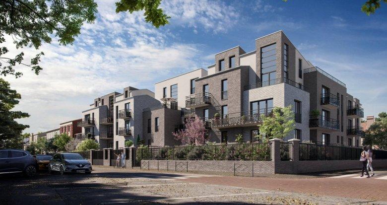 Achat / Vente immobilier neuf Villeneuve-la-Garenne proche du tram T1 (92390) - Réf. 6106