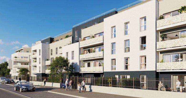 Achat / Vente immobilier neuf Villepinte à 500 mètres du RER B (93420) - Réf. 5470