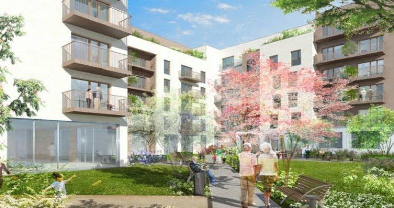 Achat / Vente immobilier neuf Villepinte quartier de la Pépinière (93420) - Réf. 4476