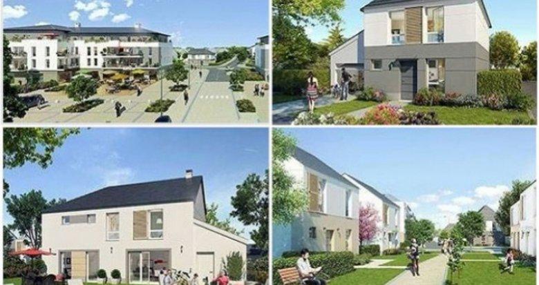 Achat / Vente immobilier neuf Villeron environnement calme (95380) - Réf. 426