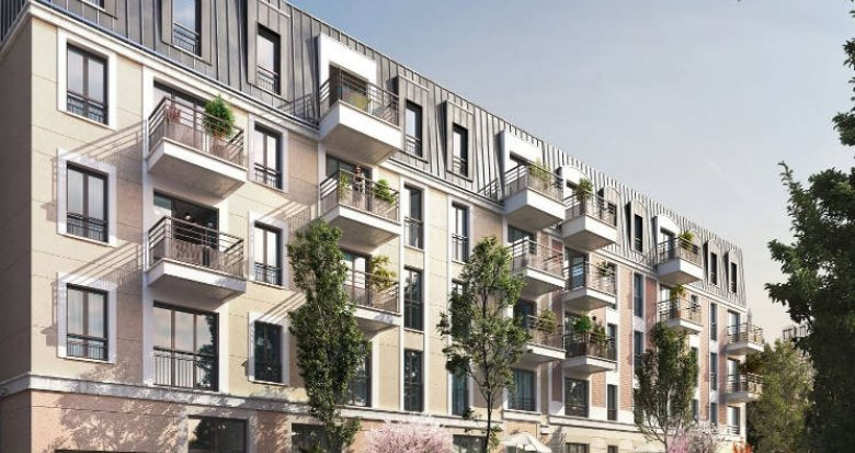 Achat / Vente immobilier neuf Viroflay proche RER C et Transilien N (78220) - Réf. 5040